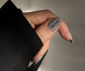 manicure, Prada, and nail image