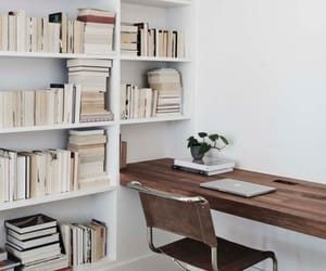 architecture, books, and decoration image