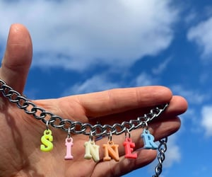 00s, chain, and colourful image