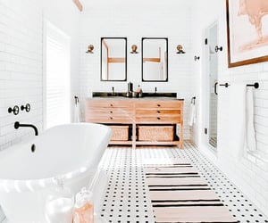 bathroom, home, and room image