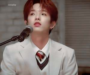 gif, red hair, and day6 image