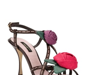 flowers, sandals, and shoes image