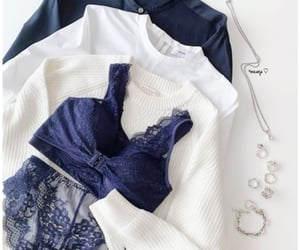 accessories, casual, and white image