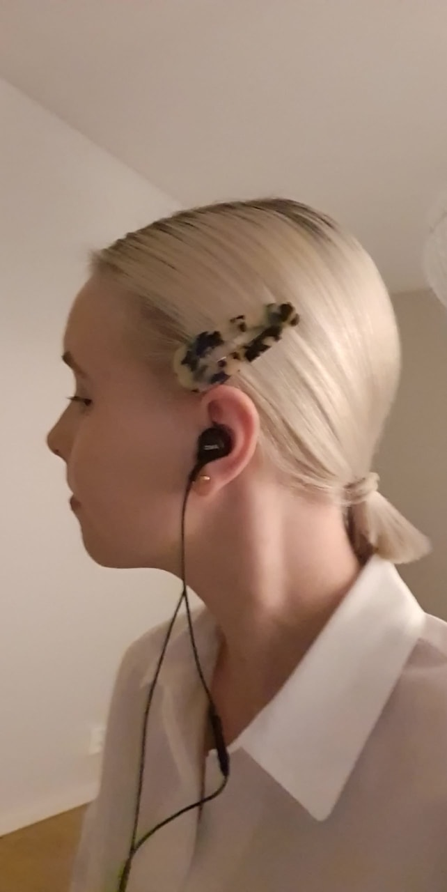 blonde, girl, and profile image