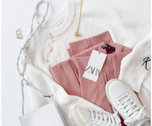 accessories, pink, and white image