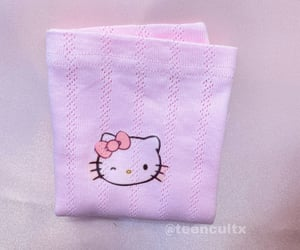 baby pink, cyber, and hello kitty image