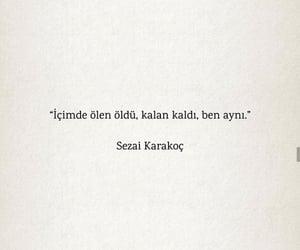 alıntı, türkçe sözler, and sezai karakoç image