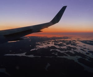 airplane, sweden, and summernights image