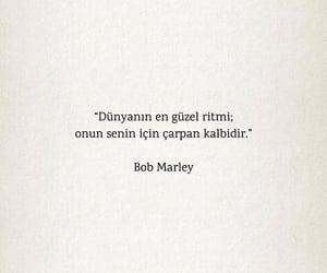 bob marley, alıntı, and türkçe sözler image