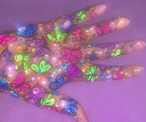 art, cool, and jewels image