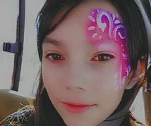 facepaint, girl, and 13 years old image