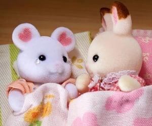 bunny, sanrio, and soft image