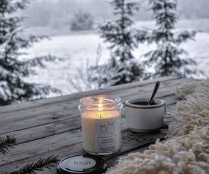 white, winter aesthetic, and white winter aesthetic image
