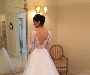 backless, lace, and beading image