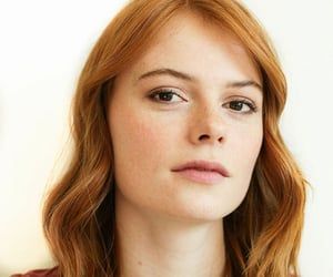 brown eyes, freckles, and ginger image
