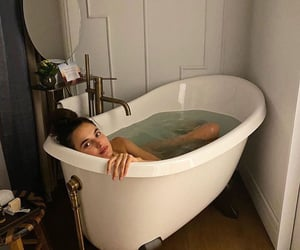 bath and girl image