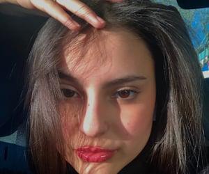 blush, selfies, and brown eyes image