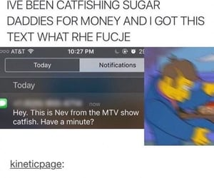 catfish, money, and mtv image