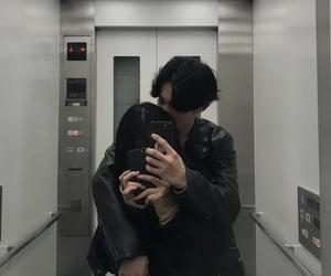 asian, couple, and female image