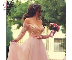 ball gowns, evening dresses, and pink prom dress image