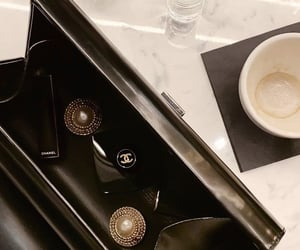 accessories, chanel, and coffee image
