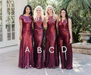 wedding party dresses and sparkly bridesmaid dress image