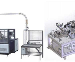 paper cup machine, paper cup making machine, and paper bowl making machine image