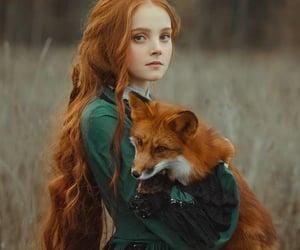 girl and fox image