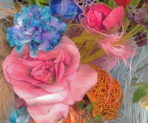 florals, flowers, and flores image