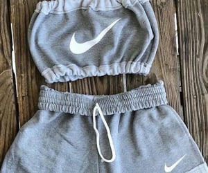crop, fashion, and grey image
