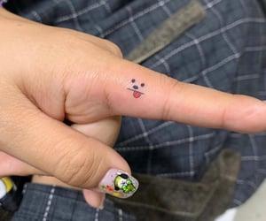 finger, tattoo, and bangtan image