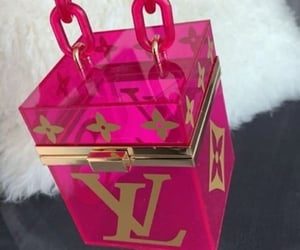bags, designer, and Louis Vuitton image