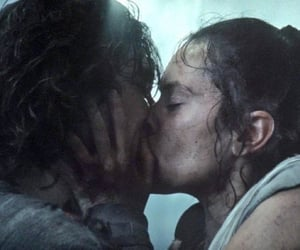 kiss, rey, and ben solo image