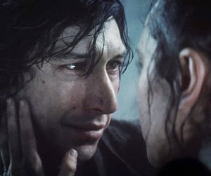 star wars, rey, and ben solo image