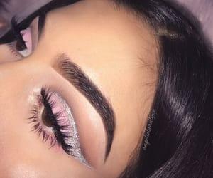 beauty, eyeshadow, and girl image