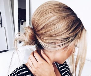 blonde, girl, and hairstylefitness image