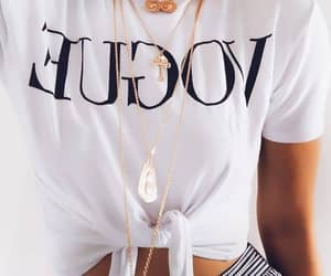 t-shirt and white image