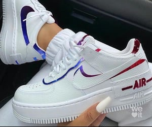 air force one, nike, and sneakers image