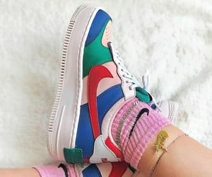 air force one, nike, and shadow image