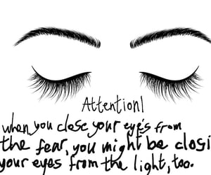 anxiety, eyes, and light image