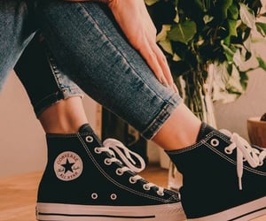 all star, chucks, and converse image