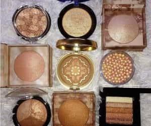 blusher, makeup tint, and makeup brushes image