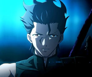 anime, lancer, and servant image