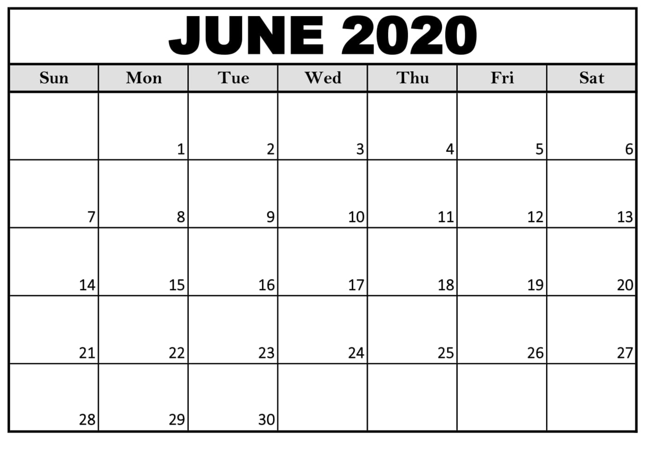 Free Printable Calendar 2020 With Notes