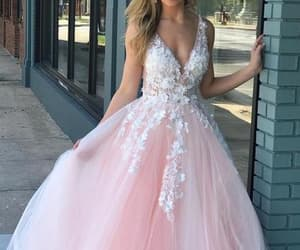 dresses, prom gown, and evening dress image