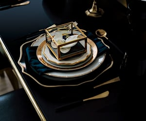 aesthetic, elegance, and tableware image