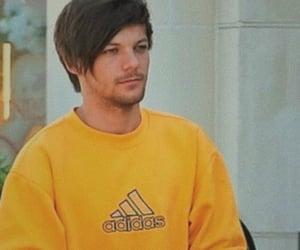 adidas, yellow, and louis tomlinson image