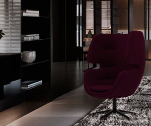 apartments, black, and burgundy image