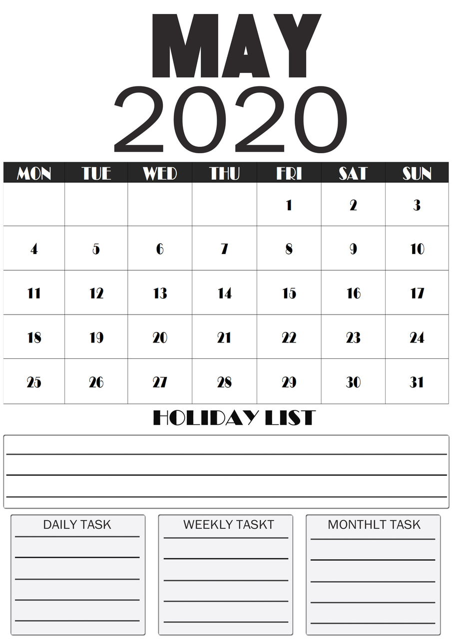 article, may 2020 calendar, and a4 may 2020 calendar image