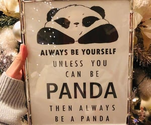 panda, quotes, and 🐼 image